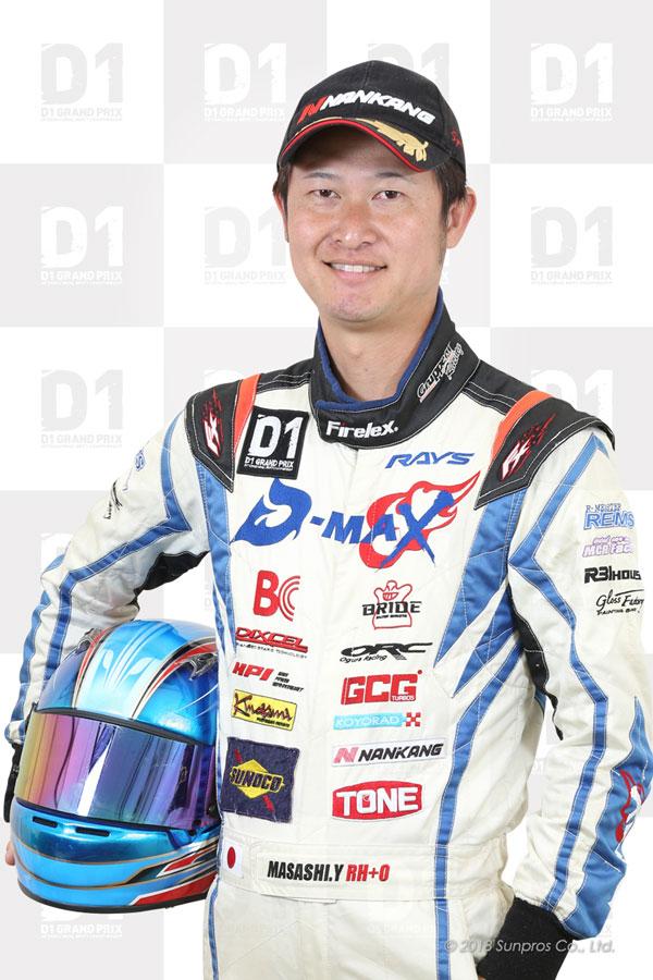 d1 official website teams drivers masashi yokoi